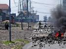 Marche d'opposition en RDC : heurts à Kinshasa et Goma, au moins un mort