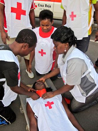 Journée internationale des premiers secours : coup de projecteur sur la croix rouge en Guinée Equatoriale