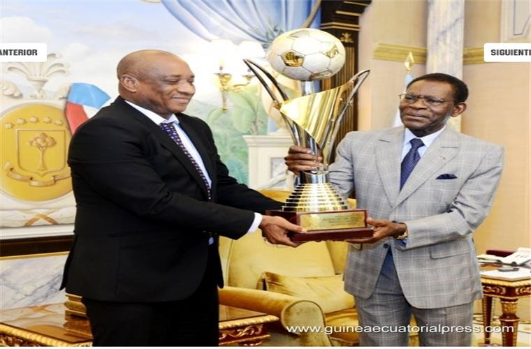 Teodoro Obiang Nguema Mbasogo, une compétition et un trophée pour la paix.