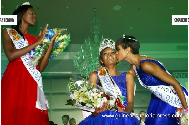 Anunciación Onguene, Miss Guinée Equatoriale 2016