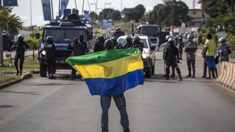 Gabon: Libreville quadrillée par les forces de sécurité après la validation de la réélection du président Bongo