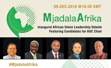 Union Africaine : Le grand débat ce jour des cing candidats à la présidence de la commission