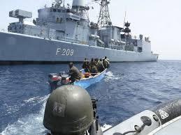 """Golf de Guinée : Des manoeuvres militaires  destinées à la lutte contre la piraterie baptisées """"OBANGAME EXPRESS 2017 """" sont en cours"""