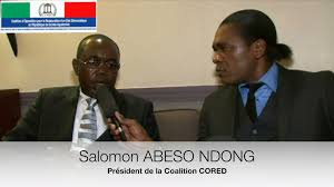 Salomon Abeso Ndong encourage les bandits et les assassins à s'attaquer aux populations Equato-Guinéennes !