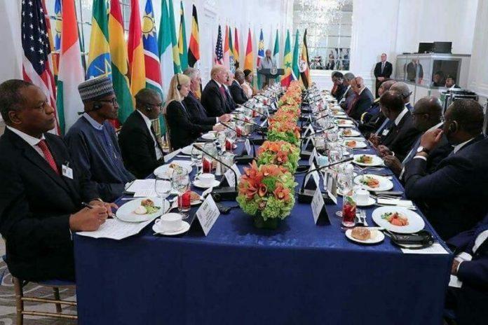 A propos du fameux dîner  de Donald Trump avec certains chefs d'Etat Africains en marge de la 72 ème  Assemblée Générale de l'ONU