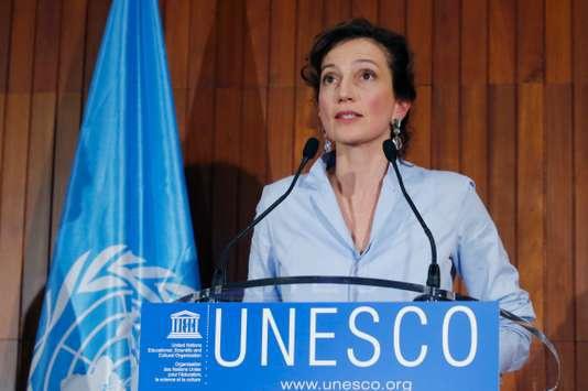 Audrey Azoulay devient la nouvelle patronne de l'Unesco