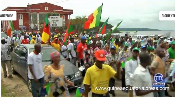 Après la tentative de déstabilisation du pays : Le peuple de Guinée Equatoriale uni derrière son Président