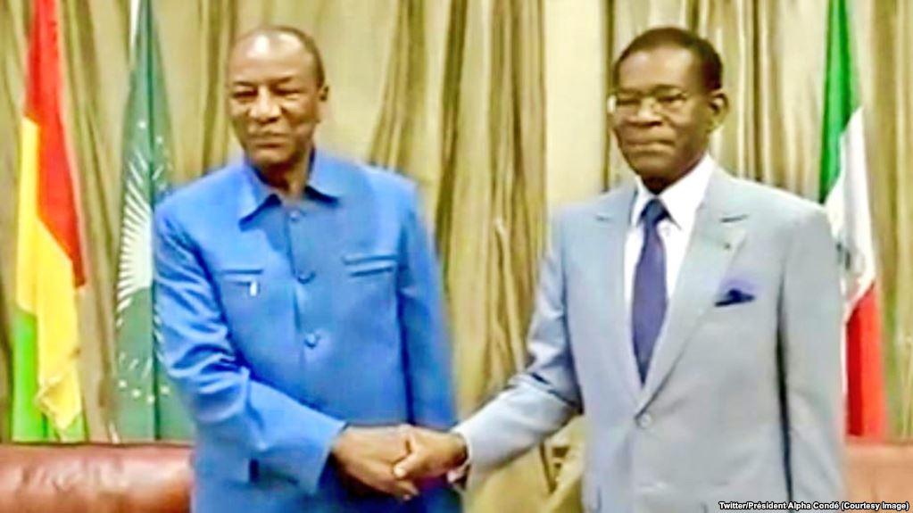 Guinée équatoriale:  Visite du président de l'UA Alpha Condé