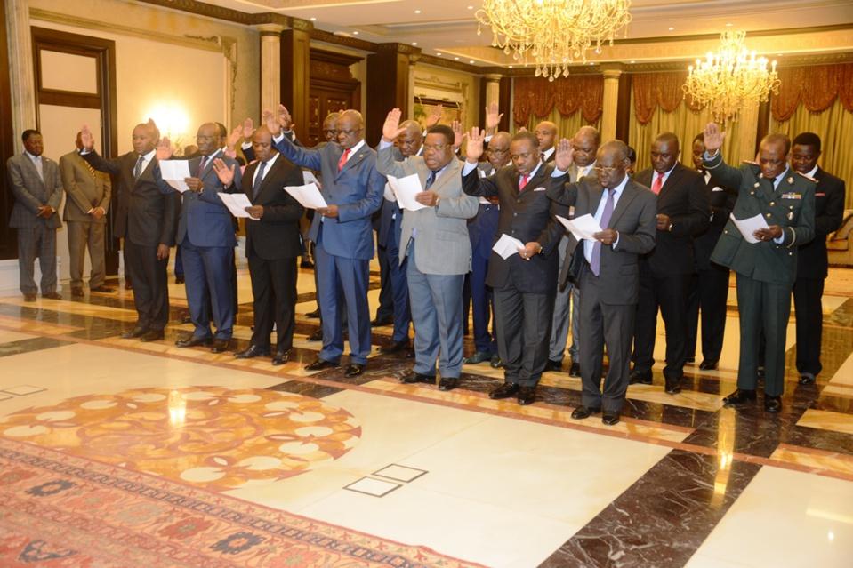 Guinée Equatoriale : Prestation de serment des nouveaux membres du gouvernement