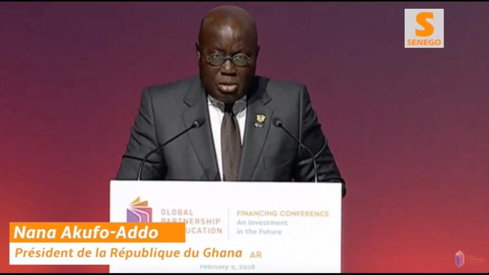 Comme lors de son fameux discours face à Emmanuel Macron à Accra, Nana Akufo-Addo a fait de nouveau sensation à Dakar