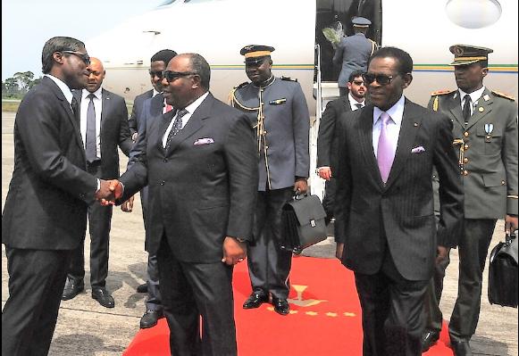 Gabon-Guinée Equatoriale : Visite de travail d'Ali Bongo Ondimba à Malabo