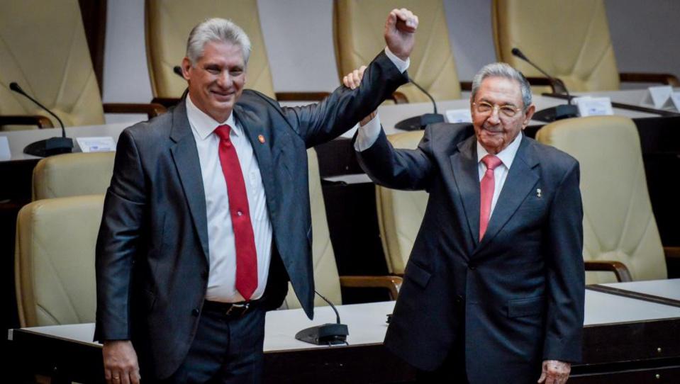 Cuba tourne la page Castro avec un nouveau président, Diaz-Canel
