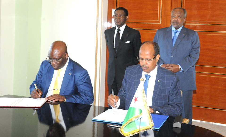 Djibouti et la Guinée équatoriale signent plusieurs accords bilatéraux