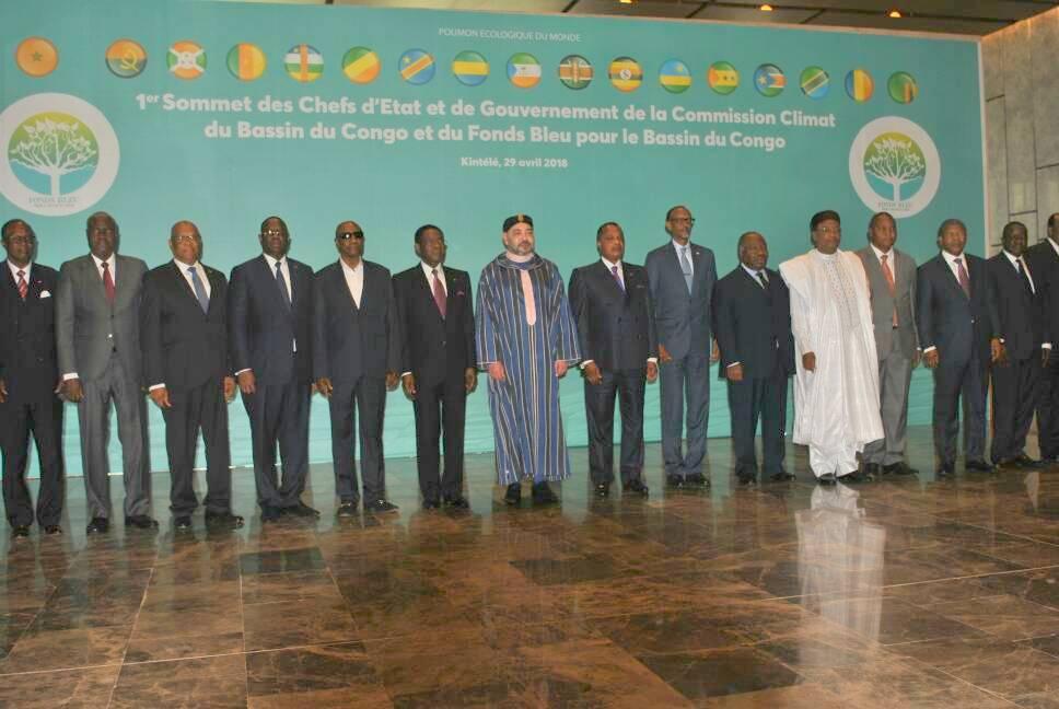 Bassin du Congo : début du sommet sur le fonds bleu  à Brazzaville