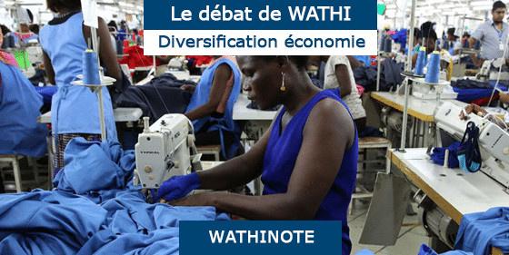 L'Afrique doit passer maintenant de la dépendance à la diversification