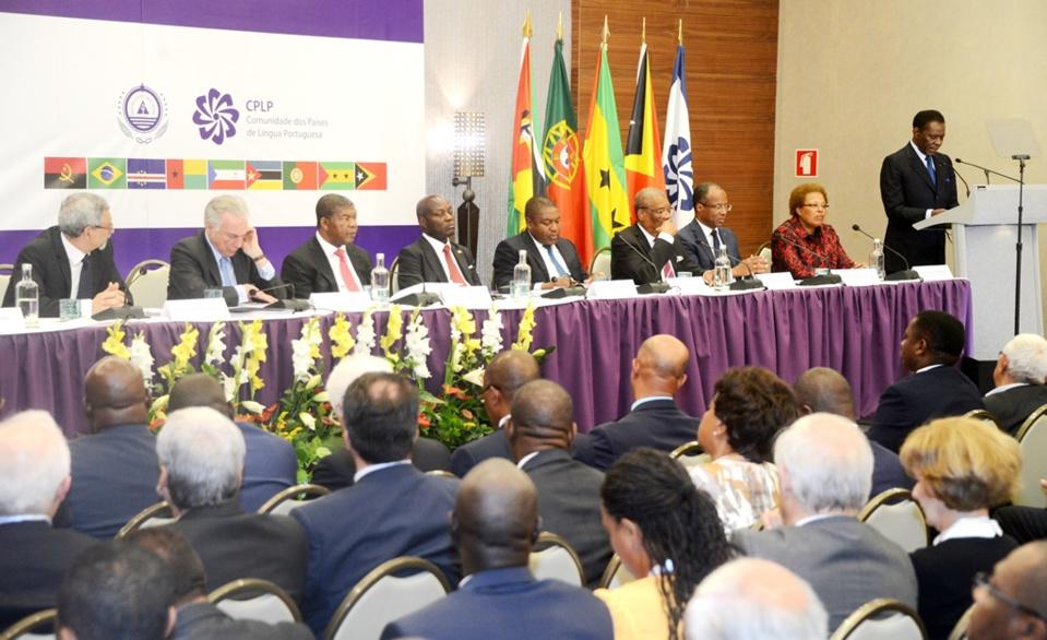 Le Président Obiang Nguema Mbasogo présent au XII sommet de la communauté des pays de langue Portugaise