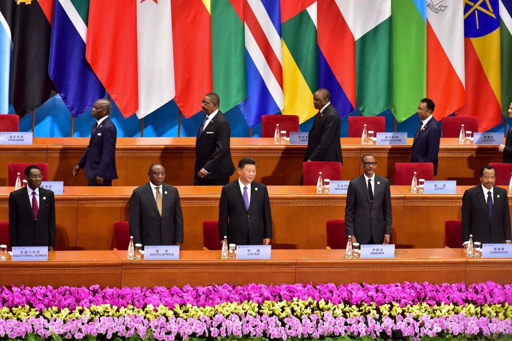 Forum coopération-Chine Afrique : Obiang Nguema Mbasogo présent à la cérémonie d'ouverture officielle du Forum