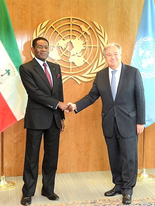 Le Président Obiang Nguema Mbasogo est à New York pour assister à la 73e Assemblée Générale de l'Onu