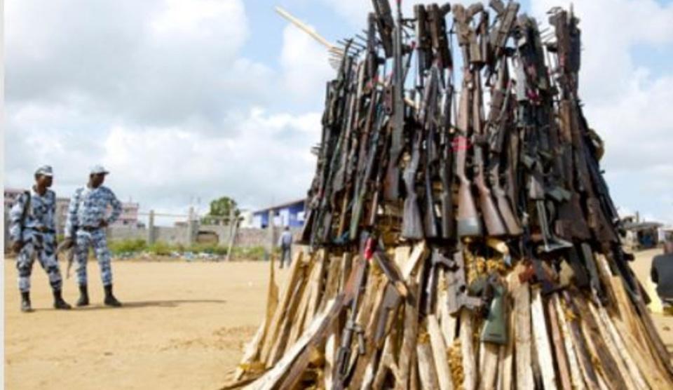 CEEAC/UNOCA : Près de 500 000 dollars pour lutter contre les armes légères en Afrique centrale