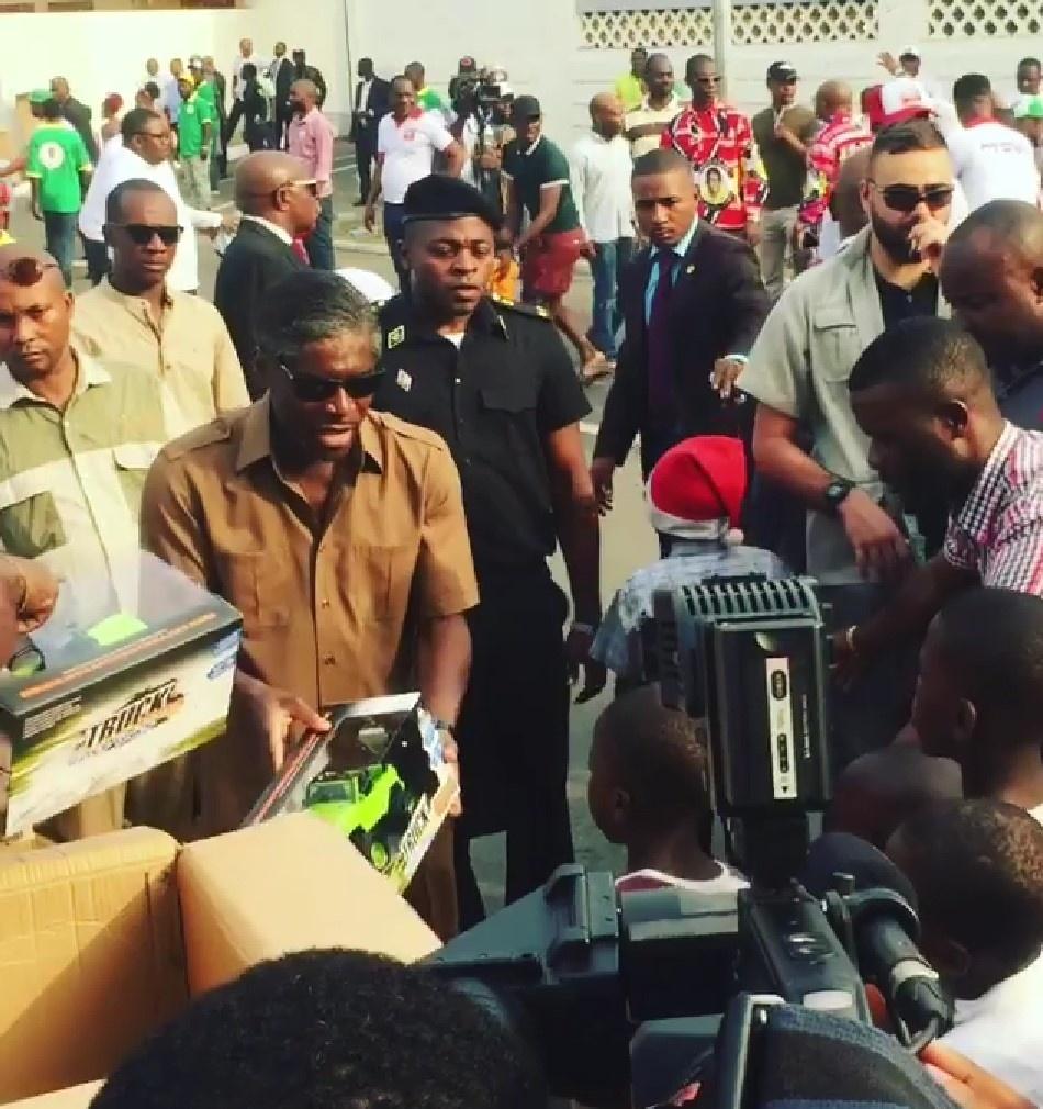 Guinée Equatoriale : Geste d'Amour et de Solidarité du Vice-Président Teodoro Nguema Obiang Mangue envers les enfants de son pays