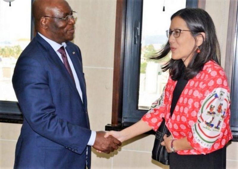 Guinée Equatoriale/USA : l'ambassadrice des États Unis  présente des excuses après les actes irrespectueux de ses compatriotes !