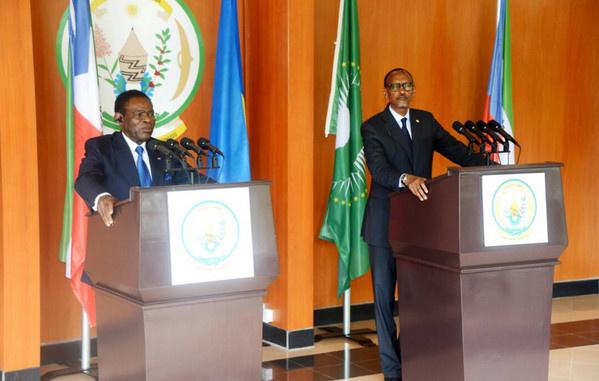 Visite du Président  Obiang Nguema Mbasogo à Kigali : La Guinée équatoriale et le Rwanda signent des accords bilatéraux