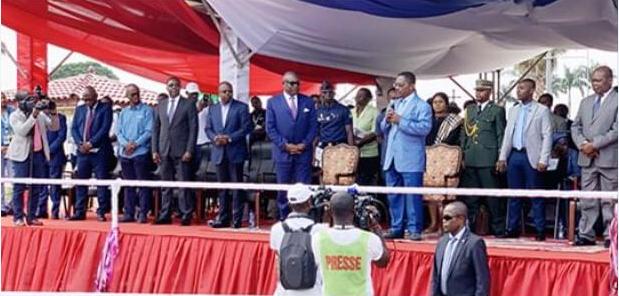 Les autorités Gabonaises accueillies à Mongomo en Guinée Equatoriale