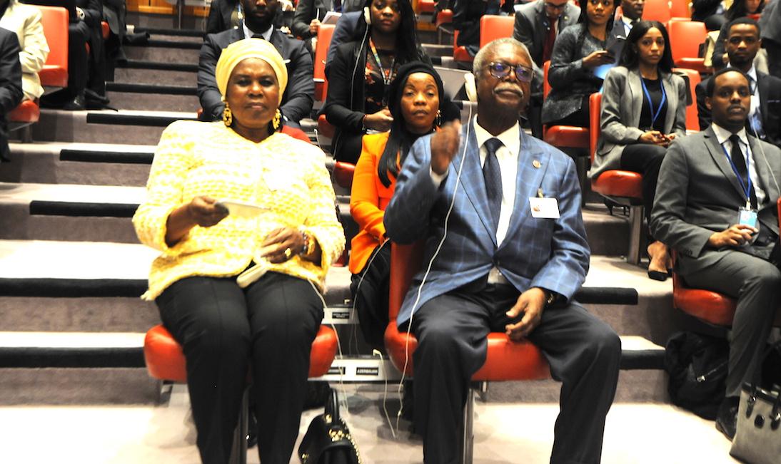 Non, M.Abeso Ndong,le Président Obiang Nguema Mbasogo ne veut pas assister,mais assiste et préside le Conseil de Sécurité de l'Onu !