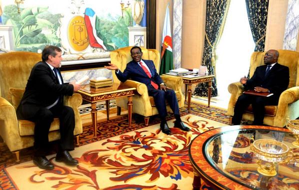 Guinée équatoriale : le président Obiang Nguema Mbasogo et l'ambassadeur de Russie échangent sur plusieurs sujets importants