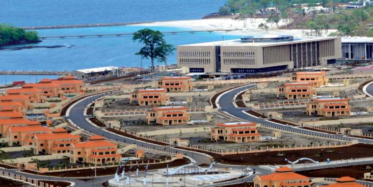 Centre de conférence, hôtel cinq étoiles et villas présidentielles : Sipopo est surnommée la « Ville de l'Union africaine »