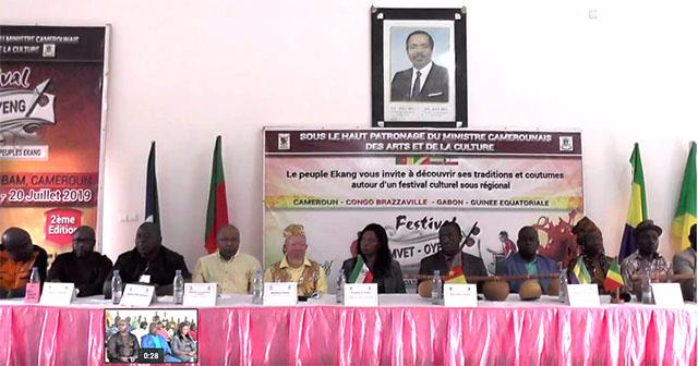 Festival Mvet-Oyeng : Rendez-vous culturel du peuple Ekang à Ambam au sud Cameroun