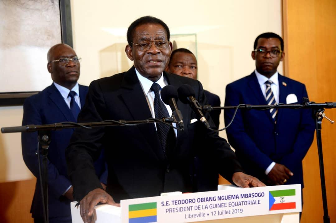 Guinée Equatoriale /Gabon : Le Président Obiang Nguema Mbasogo rend visite à son homologue Ali Bongo Ondimba