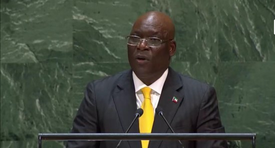Intervention du ministre Simeon Oyono Esono Angue à l'Onu