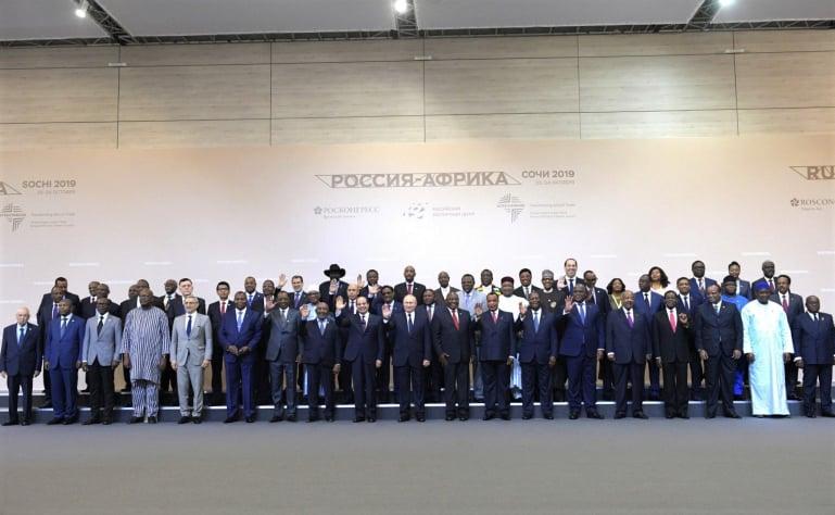 DISCOURS DU  PRESIDENT OBIANG NGUEMA MABASOGO AU FORUM ÉCONOMIQUE AFRIQUE-RUSSIE 2019