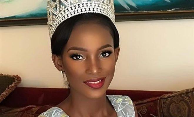 Serafina Nchama Eyene Ada,représentante de la Guinée équatoriale au concours de Miss Univers 2019 à Atlanta