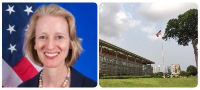 Présent et futur: Ambassade des États-Unis en Guinée équatoriale