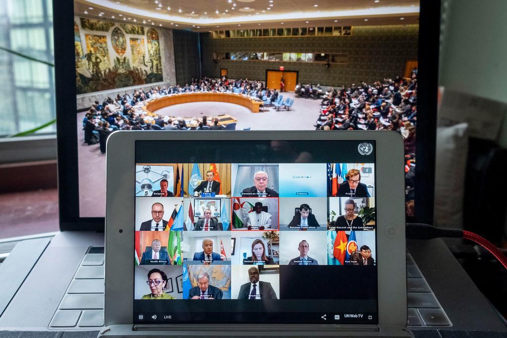 Débat virtuel des Nations africaines à l'ONU.