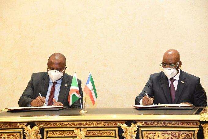 Le Burundi et la Guinée équatoriale signent un accord de coopération dans le transport maritime