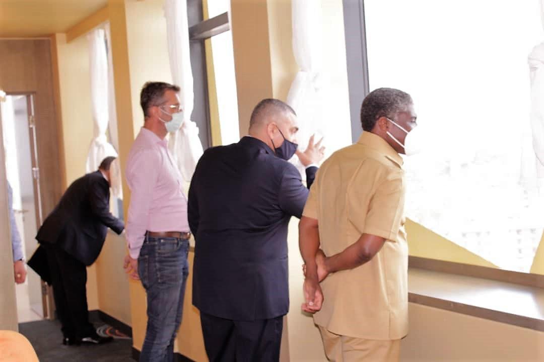 Guinée équatoriale : Le Vice-Président visite le nouvel hôtel de luxe du paseo Maritimo de Bata