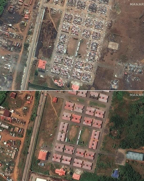 Guinée équatoriale: les sinistrés tentent de survivre après les explosions au camp militaire de Bata