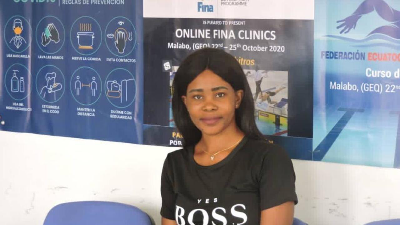 Guinée équatoriale:  Juanita Eyang Ndong Eyang en route vers les bassins de Tokyo 2020