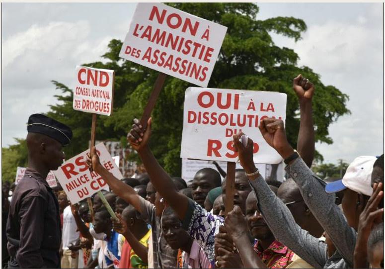 Les Burkinabè fiers d'avoir surmonté le coup d'Etat, le sort des putschistes en suspens