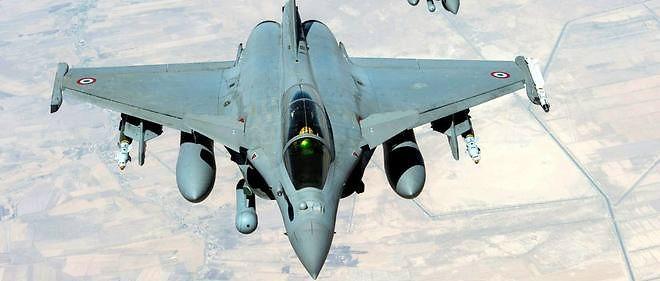 La France a mené ses premières frappes en Syrie