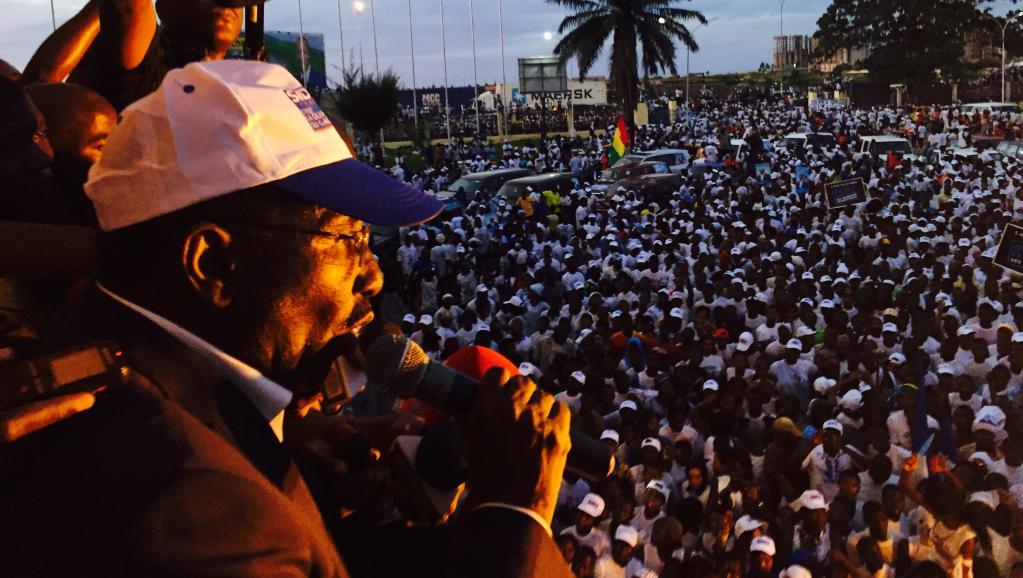 Spécial Guinée : Démonstration de force de Sidya Touré à Conakry