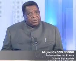 L'Ambassadeur de la Guinée Equatoriale en France son excellence  Monsieur  Miguel Oyono Ndong Mifumu à Monaco