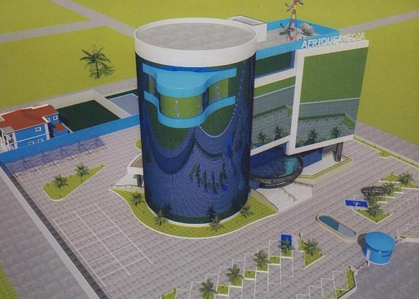 Afrique Média: Voici les nouveaux locaux de Malabo en construction