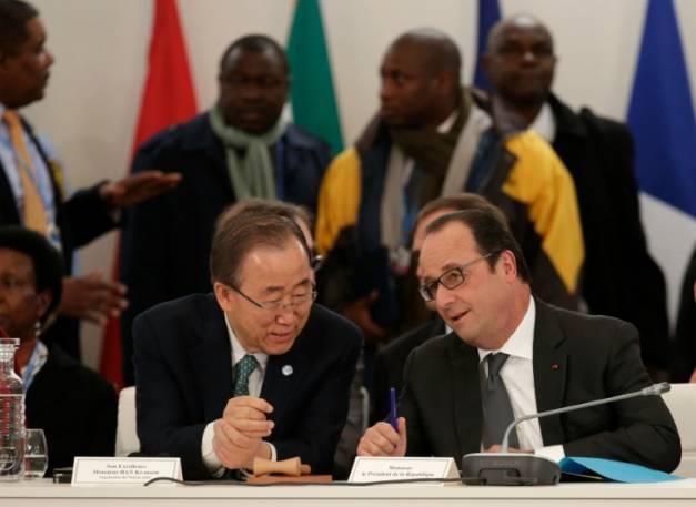"""Climat: Paris fait un geste pour rembourser la """"dette écologique"""" envers l'Afrique"""