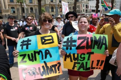 Afrique du Sud: rixes entre police et manifestants anti-Zuma