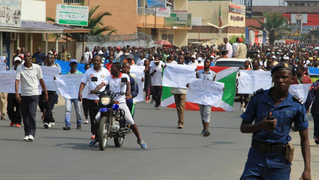 Burundi: manifestations pour protester contre «l'agression» du Rwanda