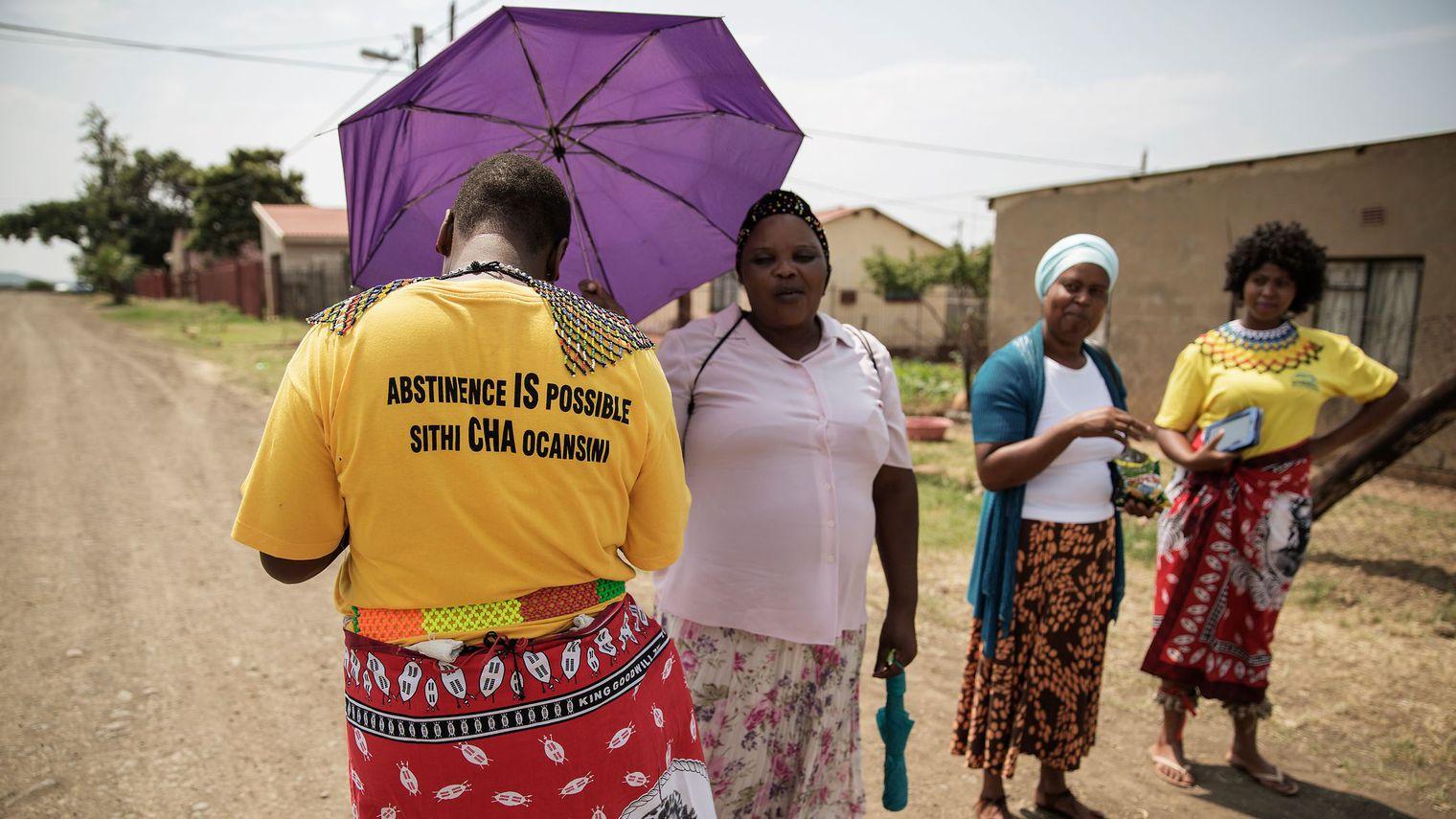 Rester vierges, sésame vers l'université pour des jeunes Sud-Africaines
